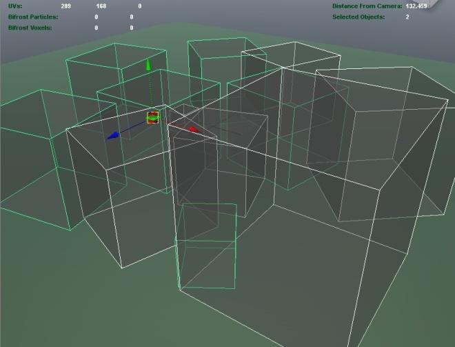 maya model view - mental ray assembly instances