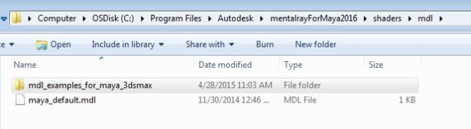 mdl-directory